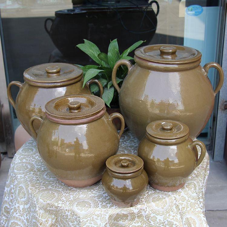 隆昌土陶油盐罐